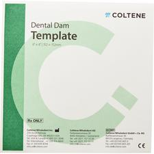 Hygenic® Dental Dam Template