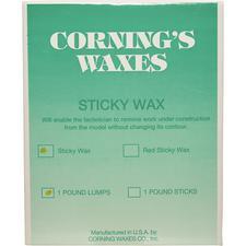 Sticky Wax Lumps, 1 lb