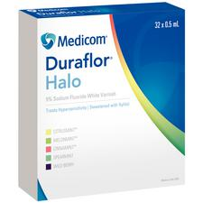 Duraflor® Halo 5% Sodium Fluoride White Varnish – 0.5 ml Unit Dose, 32/Pkg