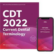 CDT 2022 Dental Procedure Code Spiralbound Book