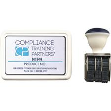 HPTC Sterilization Pouch Stamper and Ink Pads