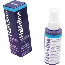 Halodine® 1.25% Povidone-Iodine Oral Spray – 60 ml Bottle, NDC 78371-04-0101