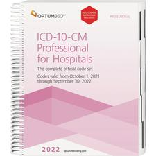 2022 ICD-10-CM Expert Professional for Hospitals, Spiral
