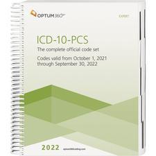 2022 ICD-10-PCS Expert, Spiral