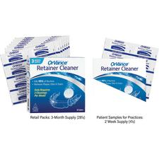 OrVance® Retainer Cleaner Tablet Patient Pack, 28/Pkg