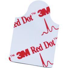 3M™ Red Dot™ Resting EKG Electrode – Tab Style, 2.2 cm x 2.2 cm, 100/Pkg