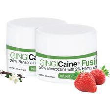 GINGICaine® Fusion Topical Anesthetic Gel, 1 oz Jar