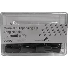 G-ænial™ Universal Injectable Dispensing Tips – Long Needle, 20/Pkg