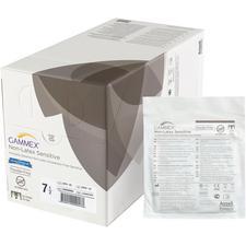 Gants chirurgicaux sensibles sans latex GAMMEX® – Non poudrés, stériles, blancs, 50/emballage