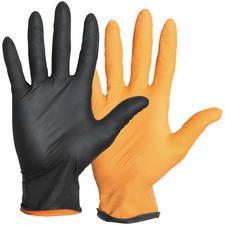 Black-Fire Nitrile Exam Gloves – Powder Free, 150/Pkg