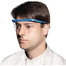 Lunettes de protection Safe+Mask® – Monture bleue, verres transparents, 10/emballage