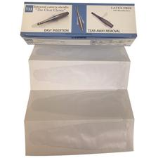 """TIPP Imaging Intraoral Camera Sheath / Barrier / Shield Solutions – Sizes 4 and 6, 8"""" Length, 100/Pkg"""