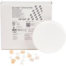 Disque de zircone à translucidité très élevée GC Initial®, 98mm de diamètre