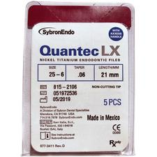 Limes à moteur Quantec LX Axxess – non-coupantes, 5/emballage