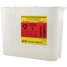 5.4 Quart Patient Room Sharps Collector, Counterbalanced Side Entry
