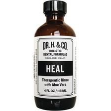 Dr. H. & Co. Heal Therapeutic Oral Rinse with Aloe Vera, 4 oz Bottle