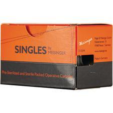 Singles Sterile Carbide Burs – FG, Cylinder, 25/Pkg