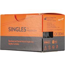Singles Sterile Carbide Burs – FG, Cylinder Round End, 25/Pkg