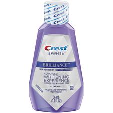 Crest® 3D White™ Brilliance™ Multi-Care Whitening Mouthwash, Clean Mint
