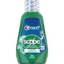 Crest® Scope Classic Mouthwash – 36 ml Bottle, 48/Pkg