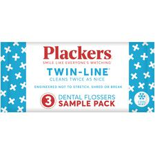 Plackers® Twin Line™ Dental Flossers