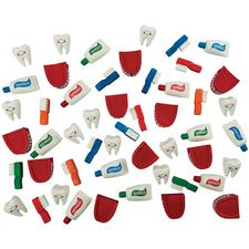 Dental Squish Assortment, 24/Pkg