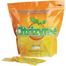 Citrizyme® Ultra Concentrated Enzyme Powder – 4.2 g Unit-Dose Packets, 250/Pkg
