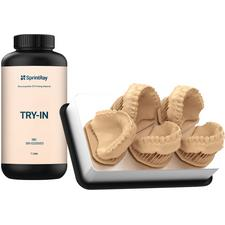 SprintRay Try-In 3D Printing Denture Material, 1 Liter Bottle