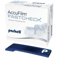 AccuFilm® FastCheck Double-Sided Occlusal Articulating Film Strips, 100/Pkg