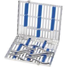 Ensemble d'instruments d'ajustement pour gouttières transparentes