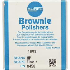 Brownie® Polishers – HP, Pre-Polishing, 12/Pkg