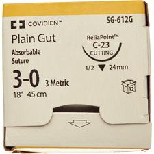 Absorbable Surgigut Suture Plain Gut – 36/Pkg