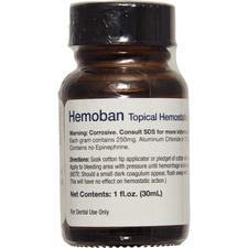 Hemoban Topical Hemostatic Solution – 1 oz Bottle