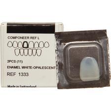 COMPONEER™ Direct Composite Veneering System – Veneer Refills, Enamel White Opalescence, 2/Pkg