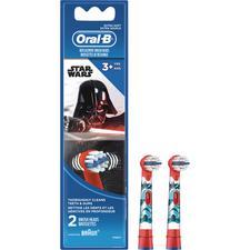 Brossette de rechange pour brosse à dents rechargeable Oral-B® pour les enfants de 3ans et plus – extra souple, 2/emballage