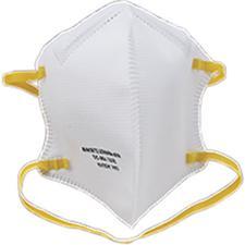 Sekura N95 Respirator Masks – Latex Free, White, 40/Pkg