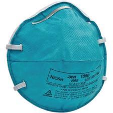 Le Respirateur contre les Particules N95 et Masque Chirurgical pour Soins de Santé 3M™ – Taille standard, sarcelle, 20/emballage