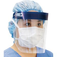 Full Length Face Shield with Foam Band – Antifog, Latex Free, 25/Pkg