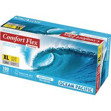Comfort Flex® Latex, Lightly Powdered Gloves, 100/Box