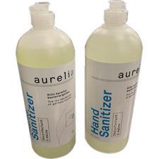Aurelia Hand Sanitizer Gel, 1 Liter Bottle