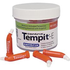 Tempit™-E Temporary Filling and Sealing Material Unit Dose Tips – 0.35 g, 30/Pkg