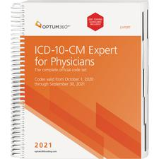 2021 ICD-10-CM Expert for Physicians, Spiralbound