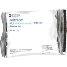 Jeltrate® Alginate Impression Material – Gross Package, Regular Set, Beige, (144 – 21 g Pouches)