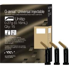 Embouts uniques de composite injectable universel G-aenial™ – 0,16 ml, 15/emballage