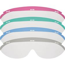Dynamic Disposables Protective Eyewear – Replacement Lenses, Gray, 25/Pkg