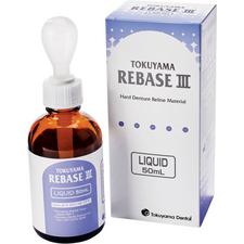 Rebase III Hard Denture Reline Material Liquid, 50 ml Bottle