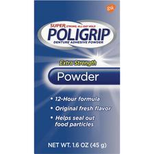 Super Poligrip® Extra Strength Powder, 1.6 oz Bottle