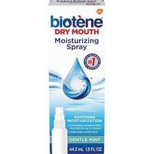 Biotene Moisturizing Mouth Spray – 1.5 oz Bottle, 6/Pkg