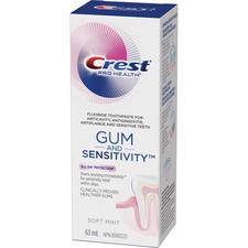 Crest® Pro-Health™ Gum and Sensitivity™ Toothpaste – 63 ml Tube, Soft Mint, 24/Pkg