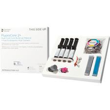 FluoroCore 2+ Dual Cure Core Buildup Material Syringe Intro Kit